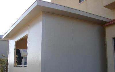 בניה ירוקה של חדר מגורים