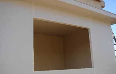 חלון בביצע בניה קלה