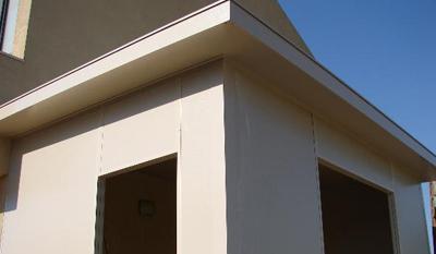 בנית חדר צמוד לבנין
