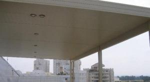גגות קלים מאלומיניום – לקירוי משטחים קטנים וגדולים