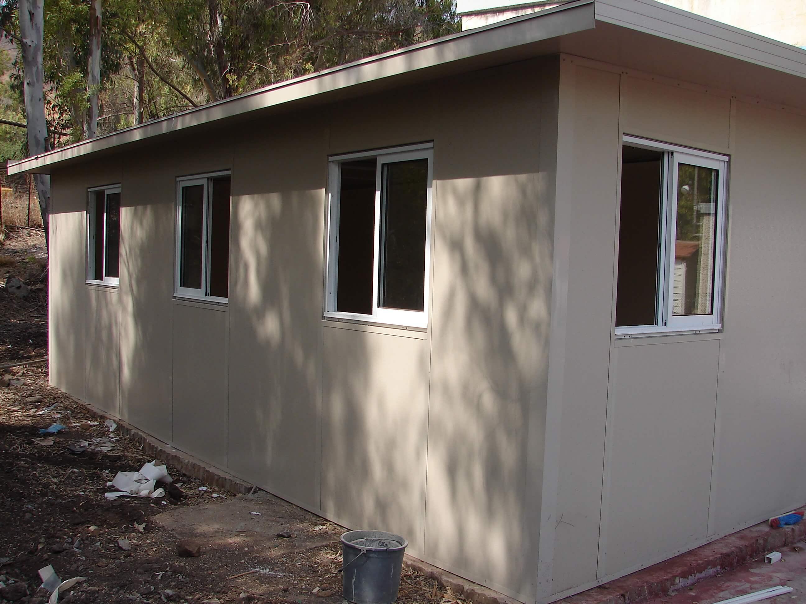 תוספות חדרים בבניה קלה. טיפים לתכנון
