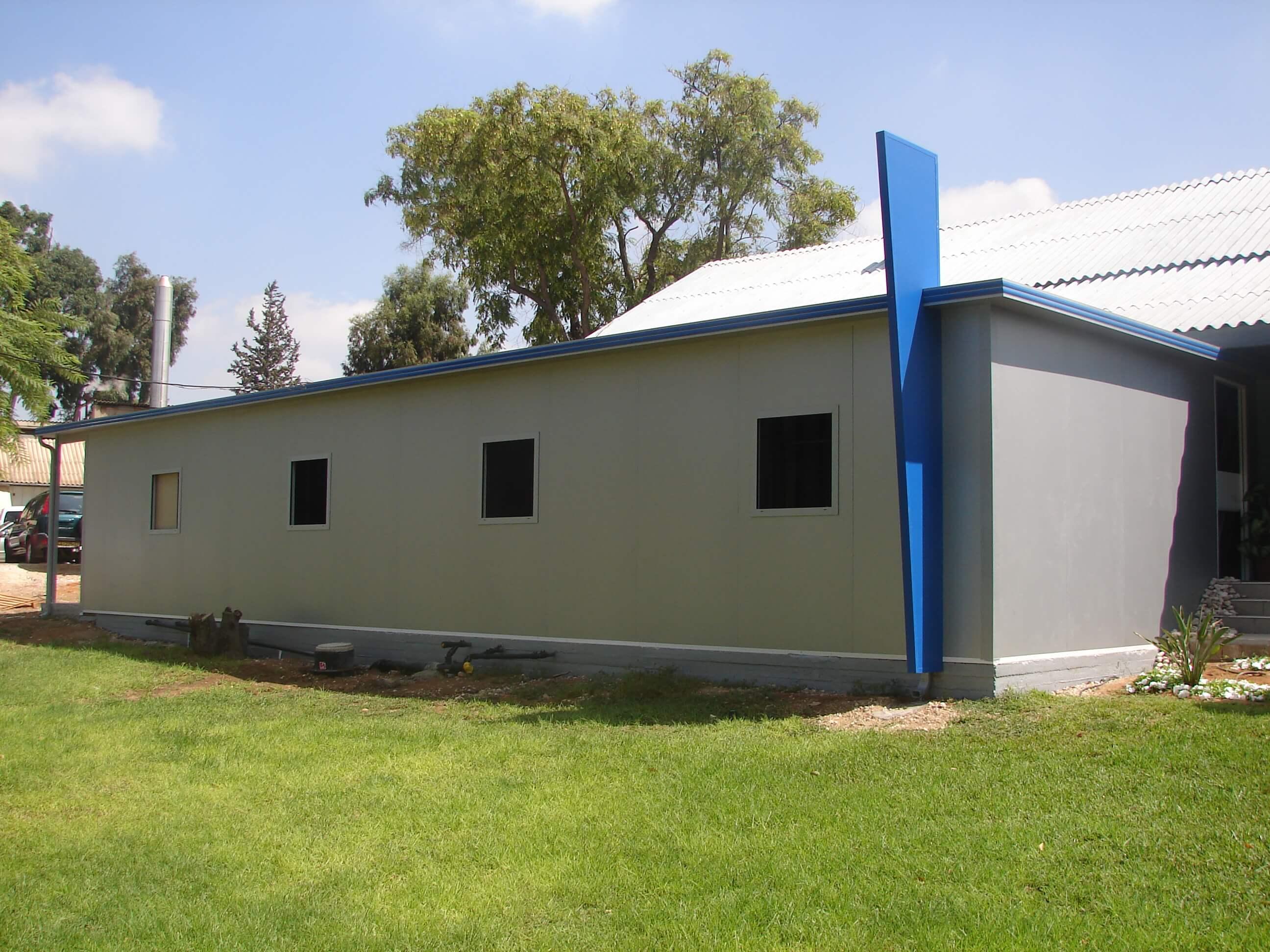 מבנה מעבדות בביה״ח אסף הרופא