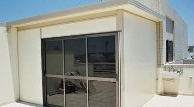 תוספת בניה של חדר במרפסת